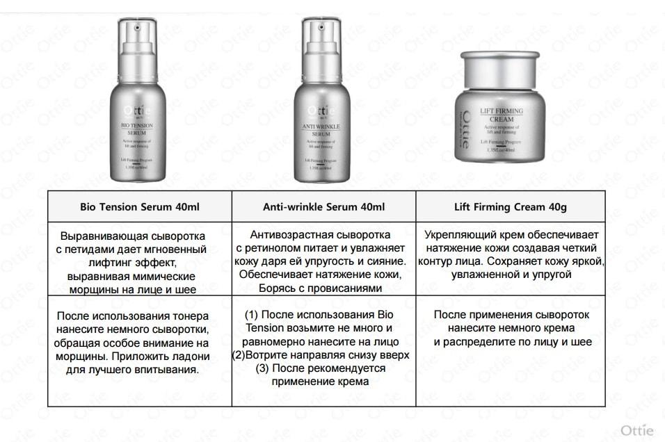 anti wrinkle serum ottie инструкция-min