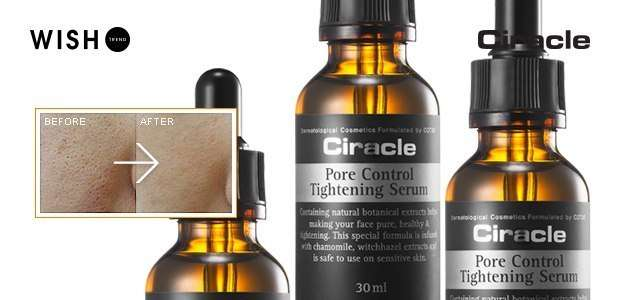 ciracle pore control tightening serum-min