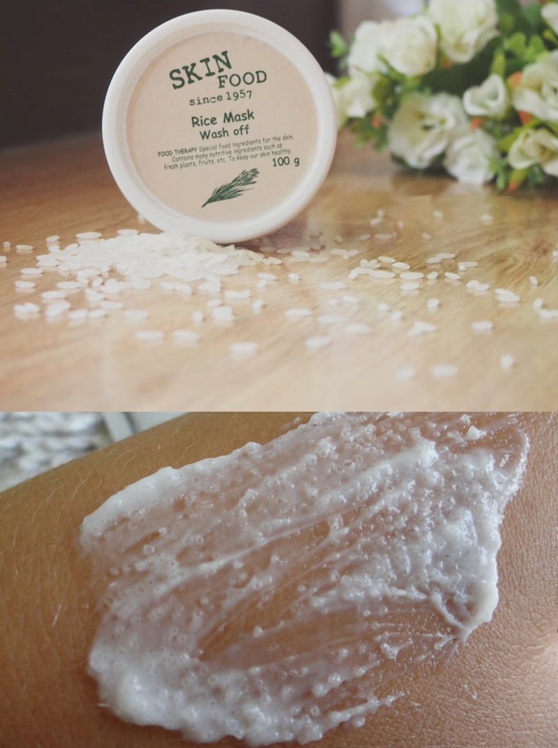 фото 3Rice Mask Wash Off [SkinFood]-min