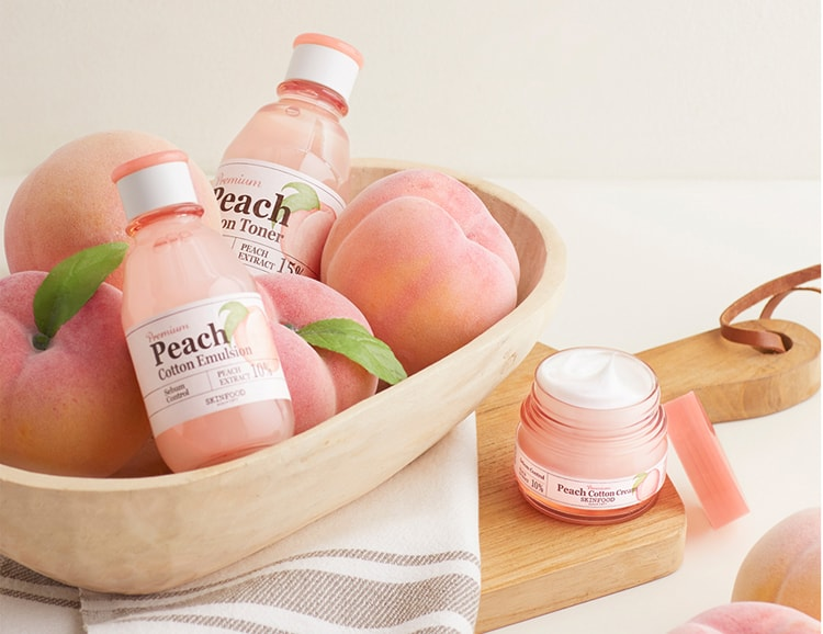 peach cotton skin food-min