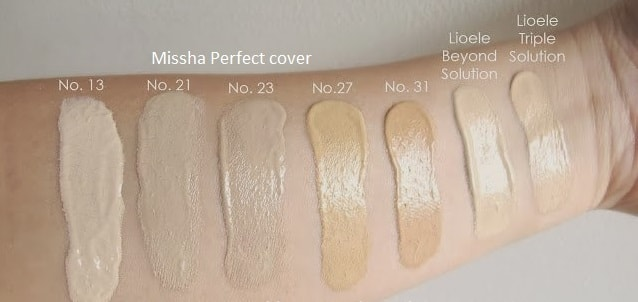 M Perfect Cover BB Cream RX SPF 42 by Missha #7