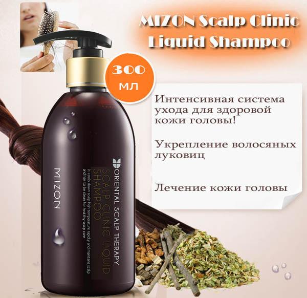 Scalp Clinic Liquid Shampoo [Mizon]