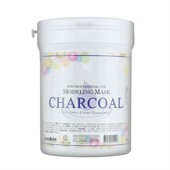 Modeling Mask Charcoal Oil Control & Pore Management [Anskin]