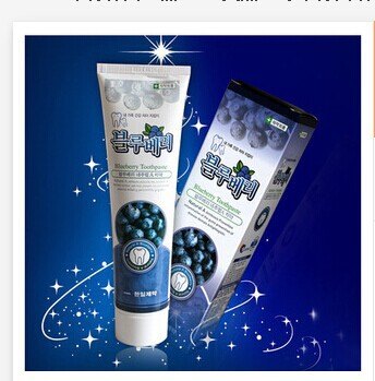 Natural Blueberry Tootpaste [Hanil Pharmaceutical]