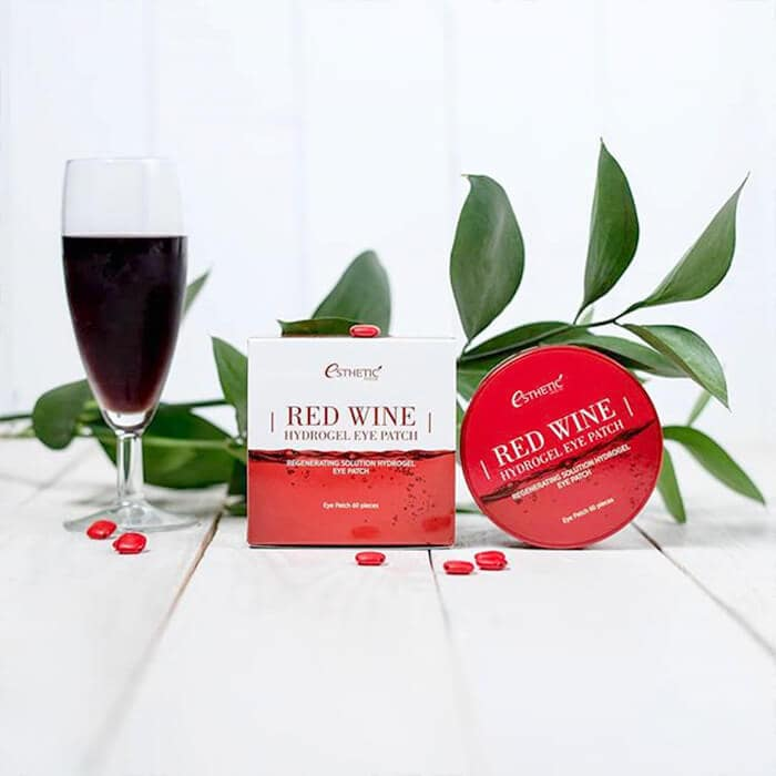 Red Wine Hydrogel Eye Patch [ESTHETIC HOUSE]