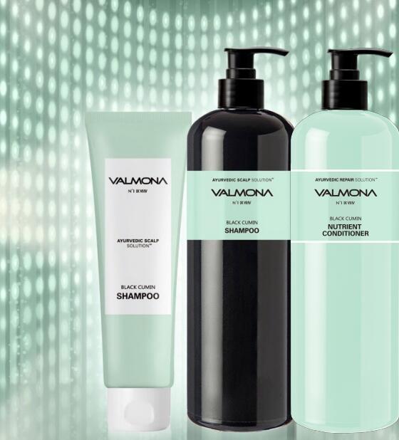 Valmona Ayurvedic Scalp Solution Black Cumin Shampoo [EVAS]