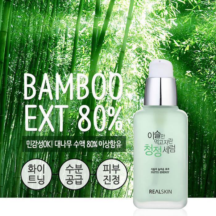 Phyto Energy Serum Bamboo Extract 80% [REALSKIN]