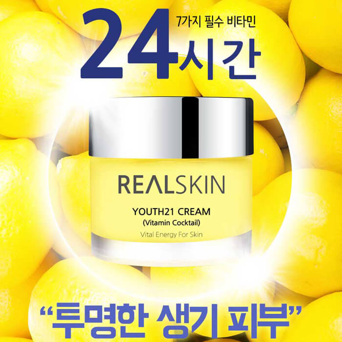 Youth21 Cream Vitamin Cocktail [REALSKIN]