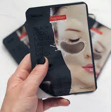 Black Food MG:gel Under Eye Mask [Purederm]