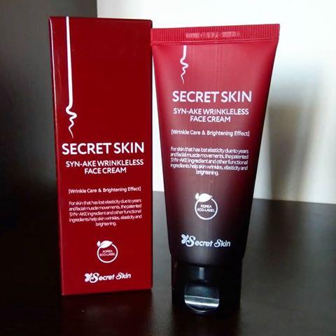 Syn-ake Wrinkleless Face Cream [Secret Skin]