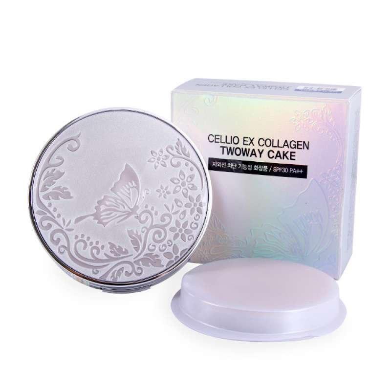 EX Collagen TWO WAY CAKE SPF30PA++ [Cellio]