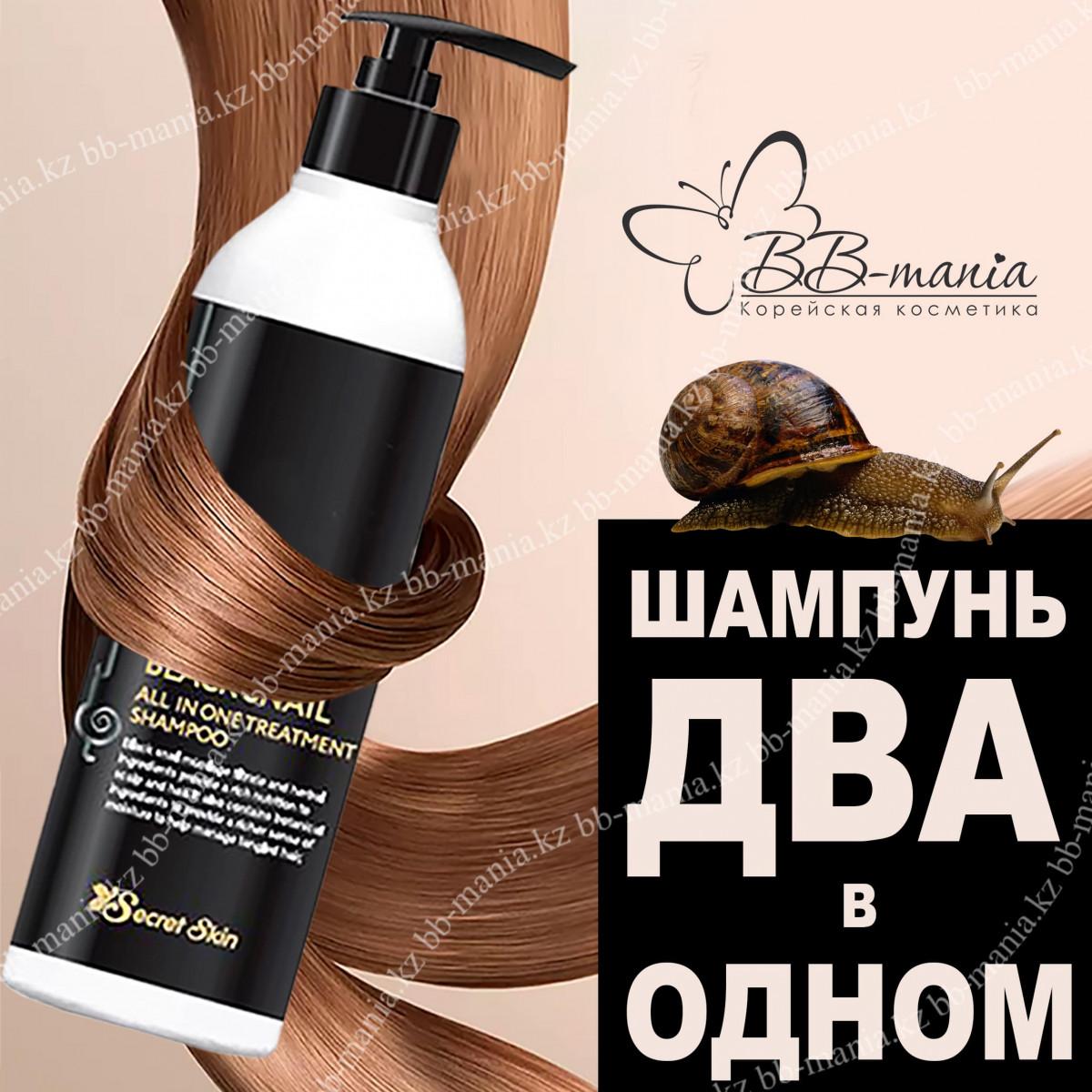 Black Snail All In One Treatment Shampoo [SECRET SKIN]