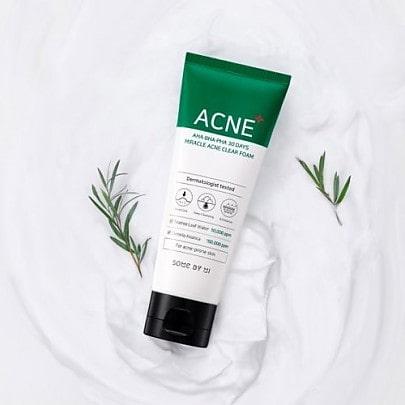 AHA-BHA-PHA 30 Days Miracle Acne Clear Foam [Some By Mi]