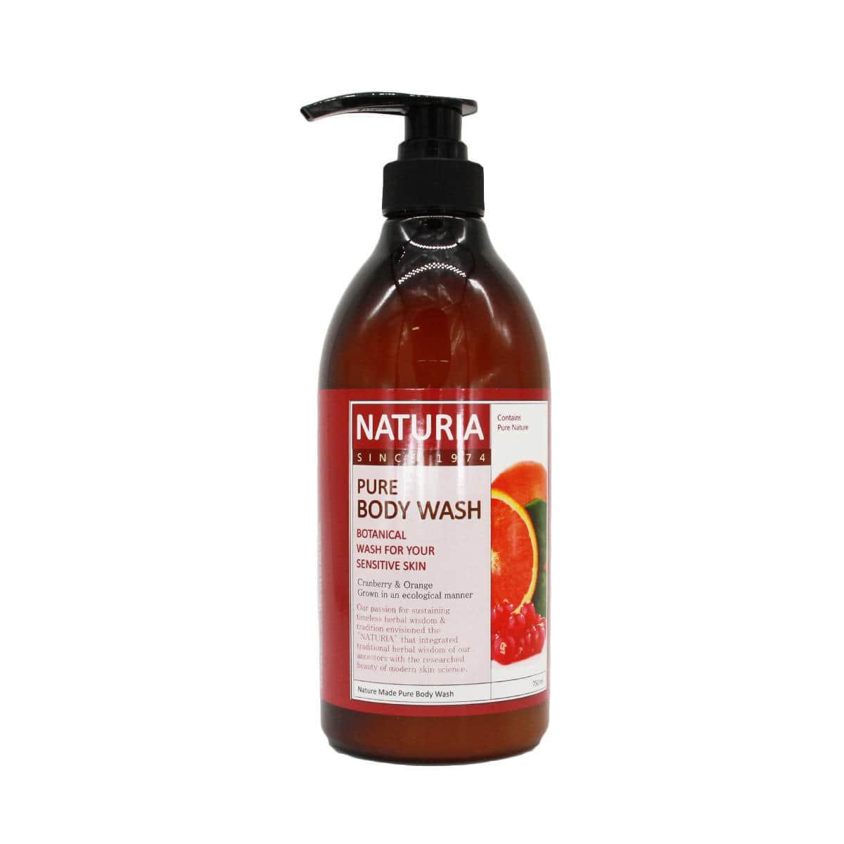 Naturia Pure Body Wash Cranberry & Orange [EVAS]