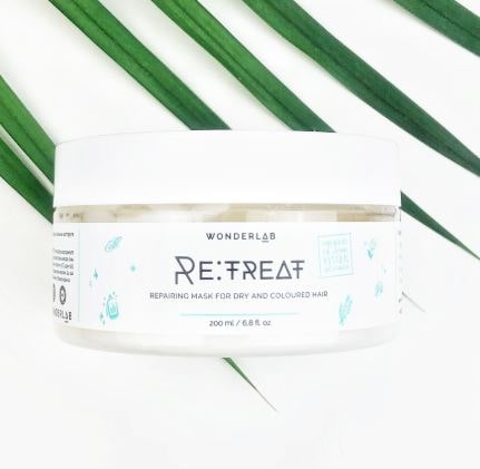 Re:Treat Repairing Mask For Dry and Colored Hair [WonderLab]