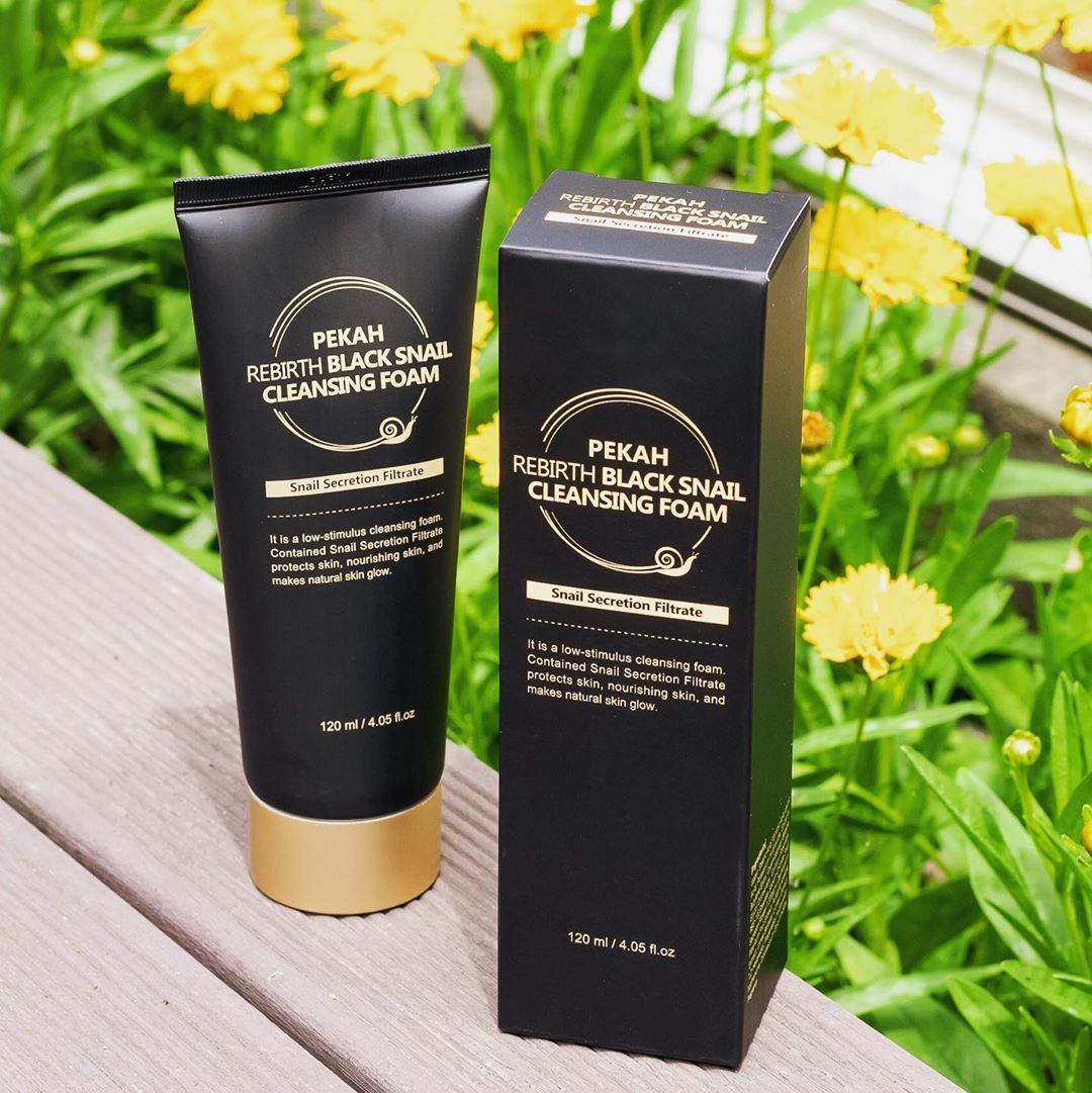 Rebirth Black Snail Cleansing Foam [PEKAH]