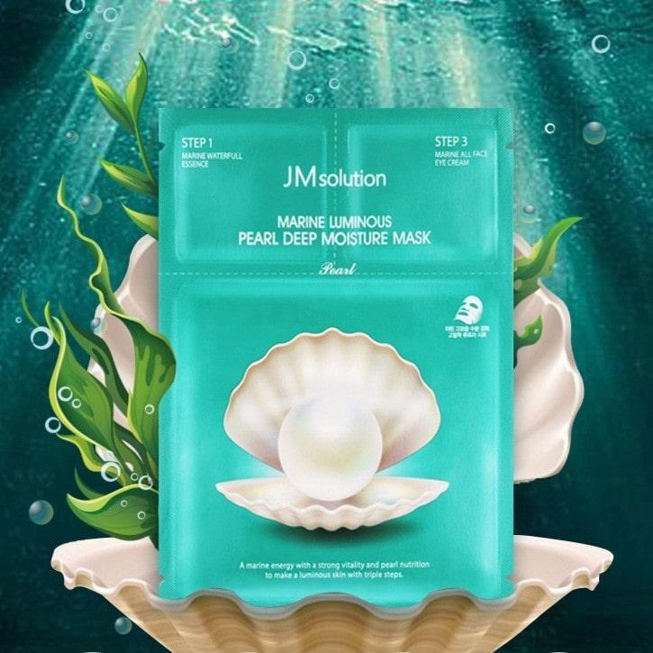 Marine Luminous Pearl Deep Moisture Mask [JMSolution]