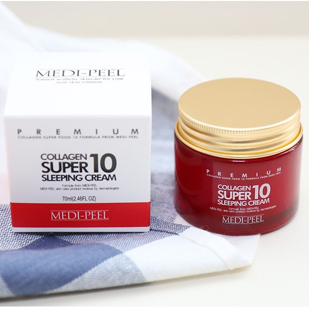 Collagen Super 10 Sleeping Cream [MEDI-PEEL]