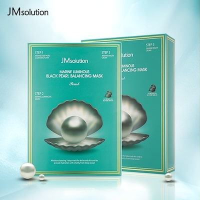 Marine Luminous Black Pearl Balancing Mask [JMsolution]