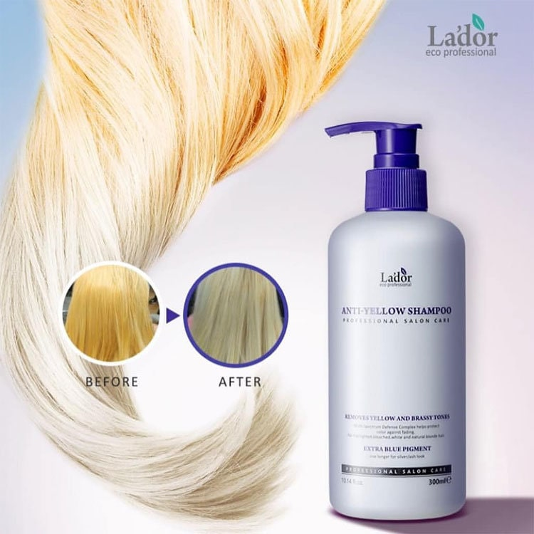 Anti-Yellow Shampoo [La'dor]
