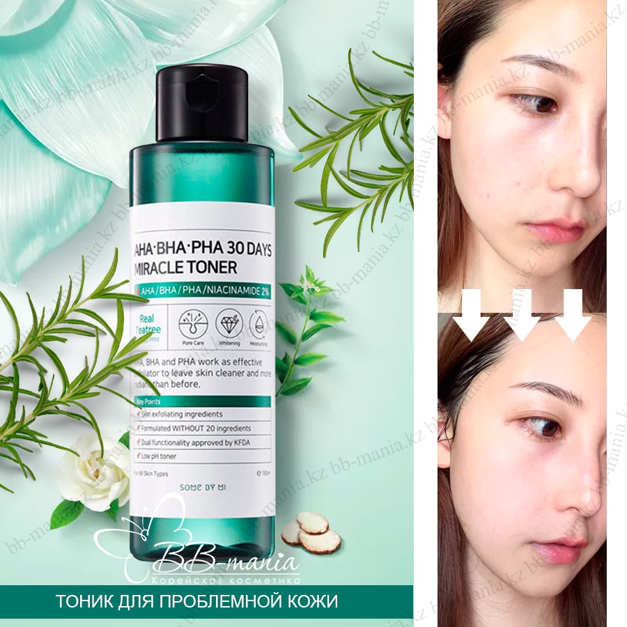 AHA-BHA-PHA 30 Days Miracle Toner [Some By Mi]