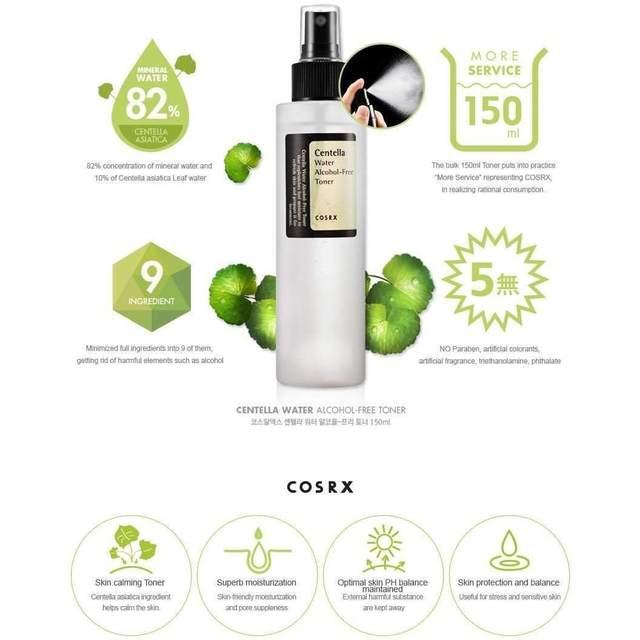 Centella Water Alcohol-Free Toner [COSRX]