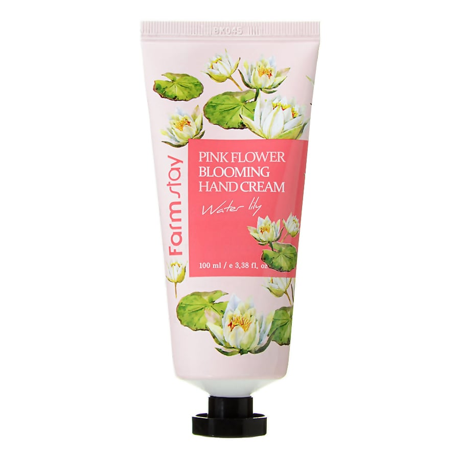 Pink Flower Blooming Hand Cream Water Lily [FarmStay]
