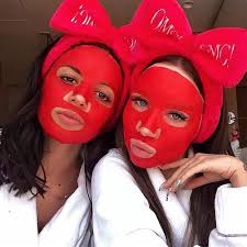 Double Dare OMG! Red + Snail Mask