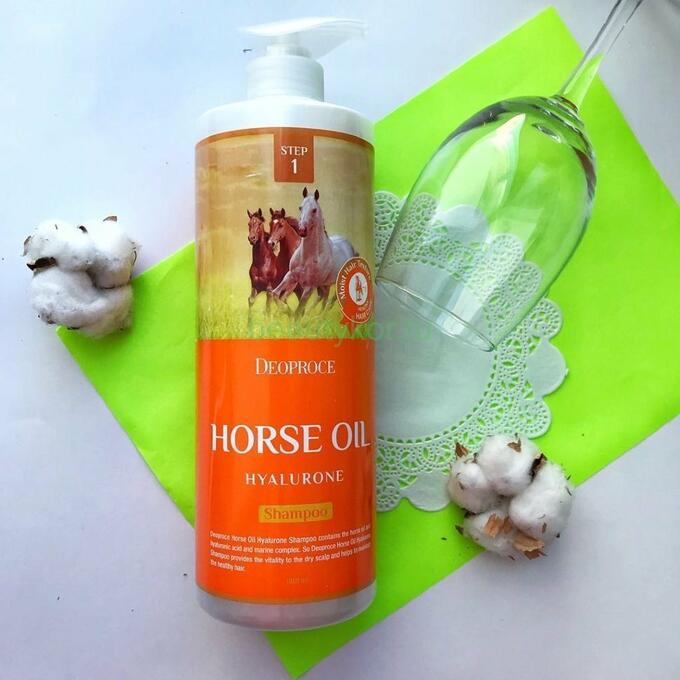 Horse Oil Hyalurone Shampoo [DEOPROCE]