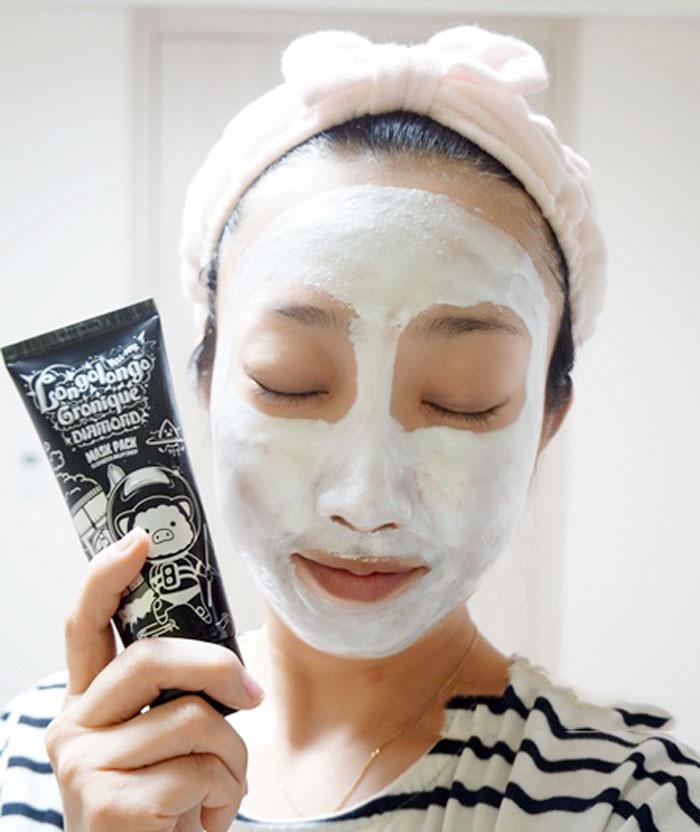 Longo Longo Gronique Diamond Mask Pack [Elizavecca Milky]