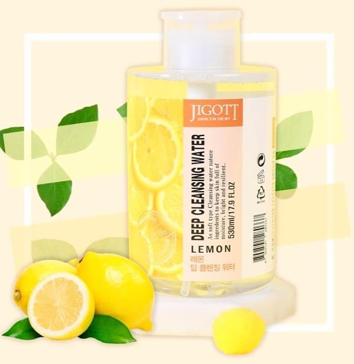 Deep Cleansing Water Lemon [Jigott]