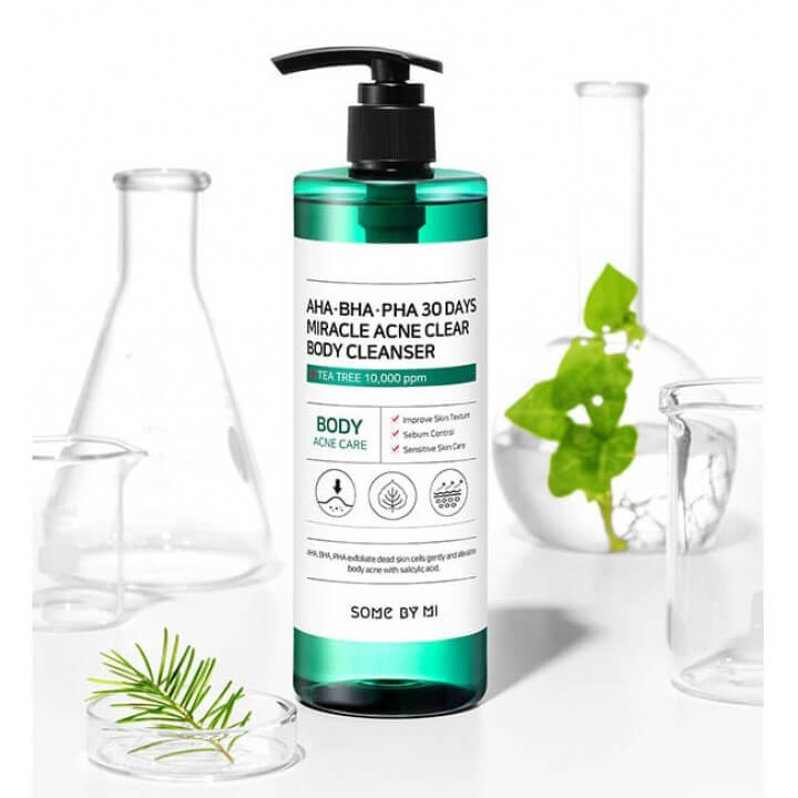 AHA-BHA-PHA 30 Days Miracle Acne Clear Body Cleanser [Some By Mi]