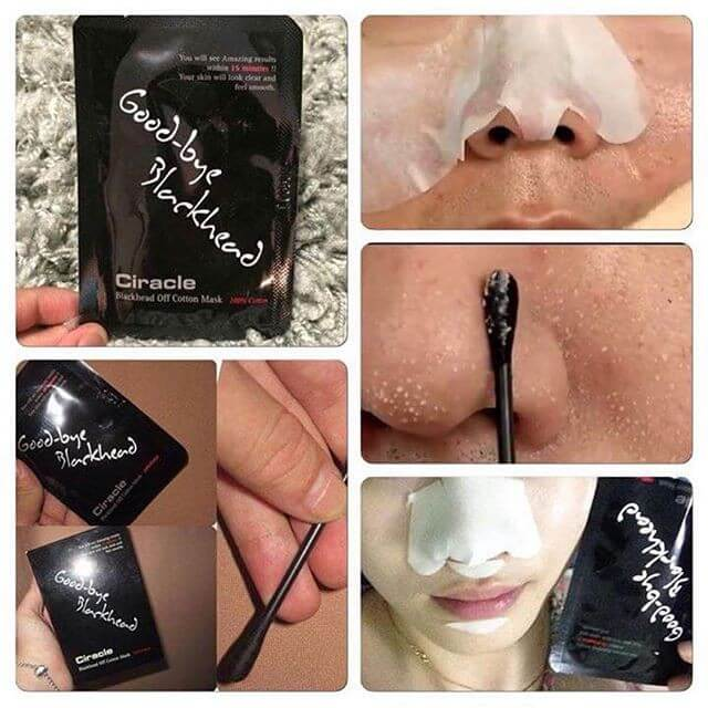 Blackhead Off Cotton Mask [Ciracle]