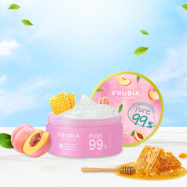 My Orchard Peach Real Soothing Gel 300 ml [Frudia]