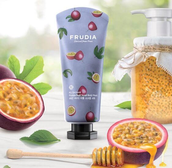 My Orchard Passion Fruit Scrub Body Wash [Frudia]
