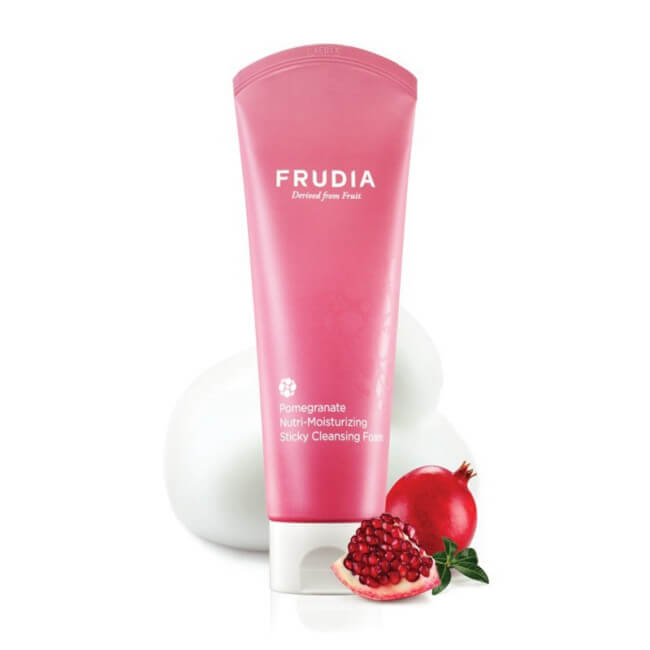 Pomegranate Nutri-Moisturizing Sticky Cleansing Foam [Frudia]