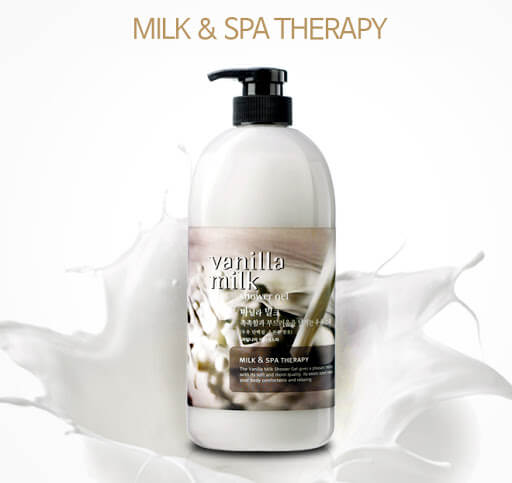 Vanilla Milk Body Lotion Milk and Spa Therapy [Welcos]