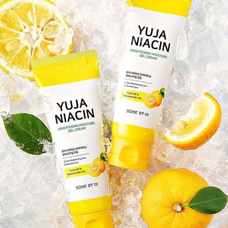 Yuja Niacin Brightening Moisture Gel Cream [Some By Mi]