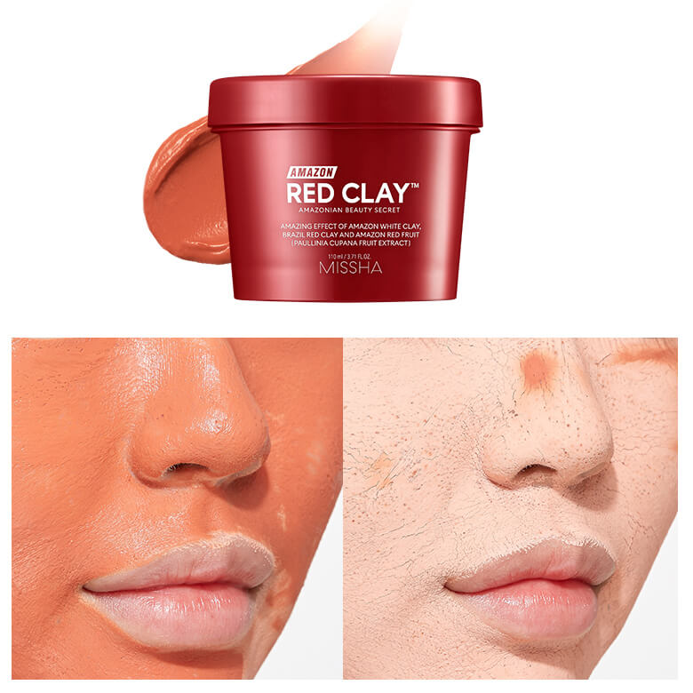 Amazon Red Clay Pore Mask [Missha]