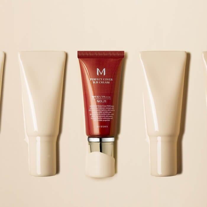 M Perfect Cover BB Cream SPF42 PA+++ 50 мл [Missha]