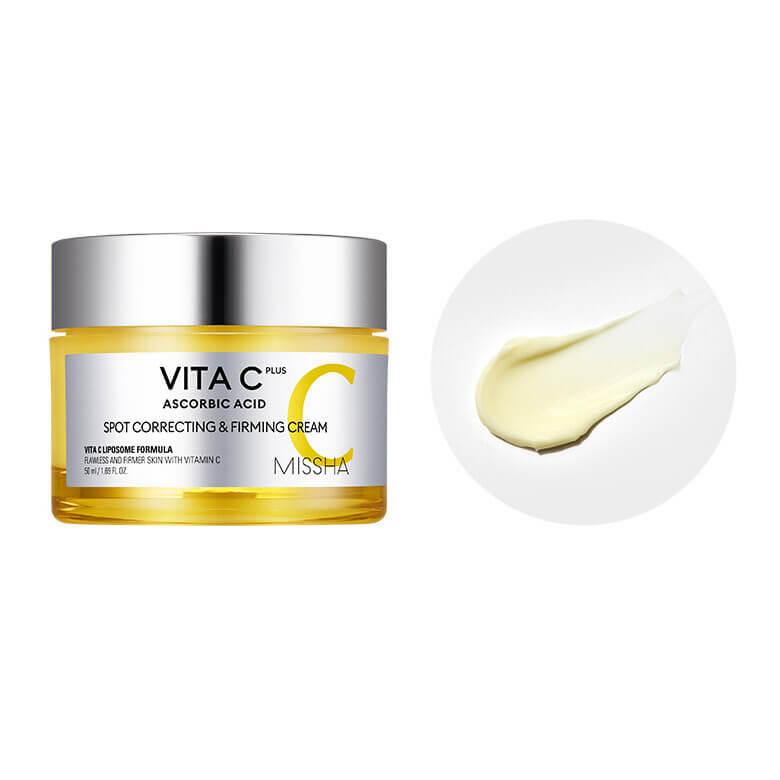 Vita C Plus Spot Correcting & Firming Cream [MISSHA]