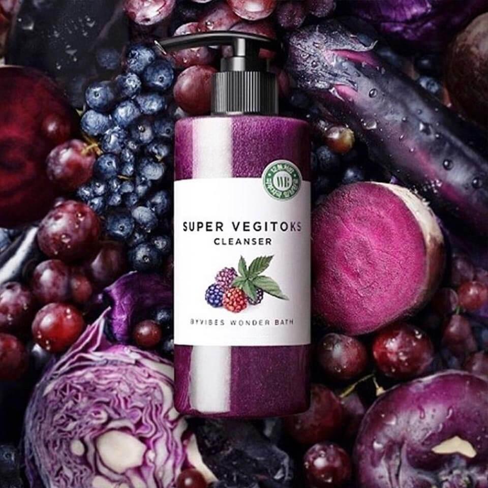 Super Vegitoks Cleanser Purple [Wonder Bath]