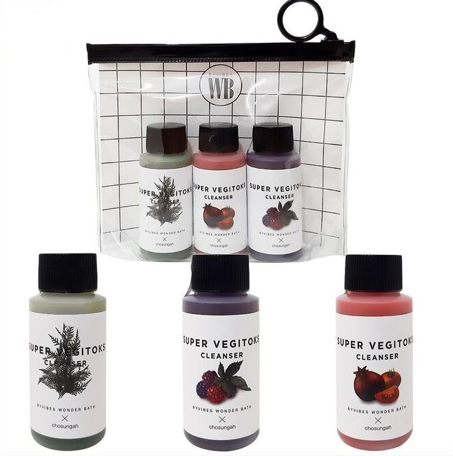 Super Vegitoks Cleanser Miniature Kit [WONDER BATH]