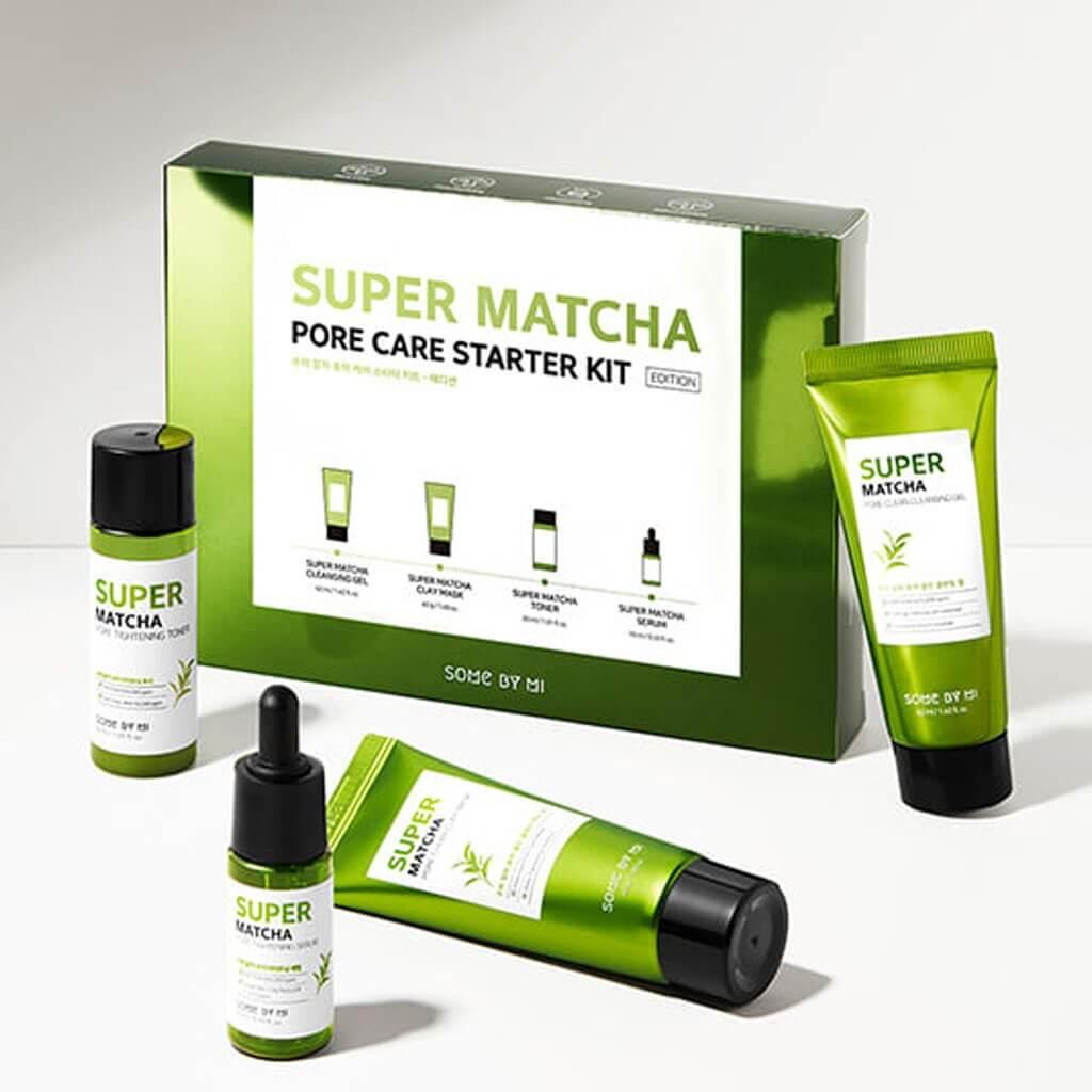Super Matcha Pore Care Starter Kit [Some By Mi]
