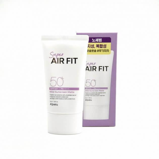 Super Air Fit Mild Sunscreen Matte SPF50+ PA++++ [A'Pieu]