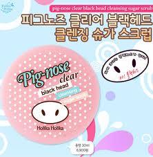 Pig - Nose Clear Black Head Cleansing Sugar Scrub [Holika Holika]