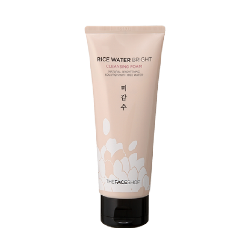 Rice Water Bright Cleansing Foam [The Face Shop]