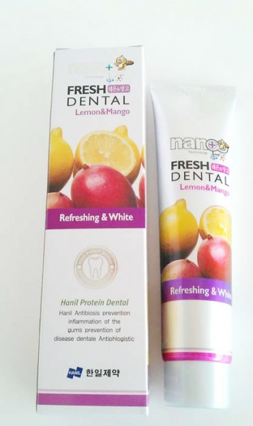 Nano Fresh Dental Lemon&Mango [Hanil Pharmaceutical]