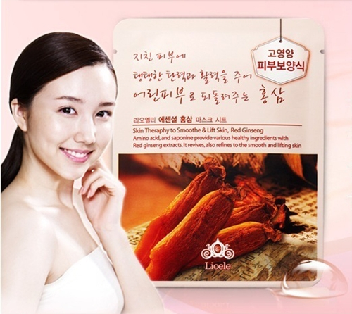 Essential Mask Red Ginseng [Lioele]