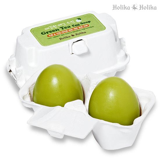 Green Tea Egg Soap [Holika Holika]